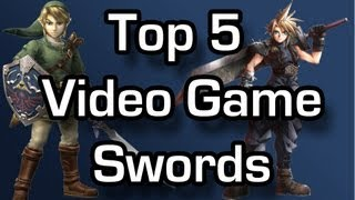 Top 5 - Swords in video games