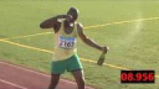 Usain Bolt Celebrates Early ... Very Early thumbnail