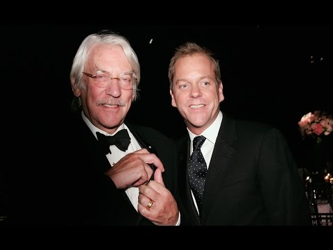 Emotional Donald Sutherland Talks Memory Of Son Kiefer's Audition