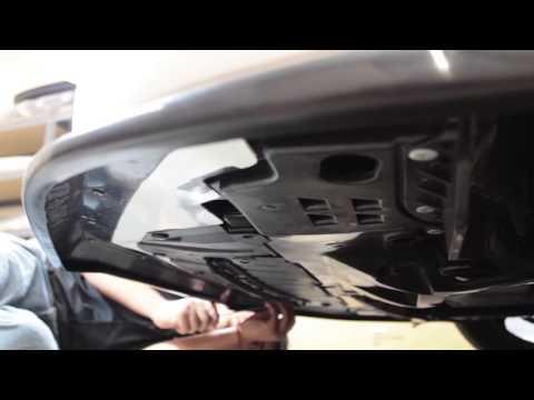 Honda Civic Front Bumper Removal