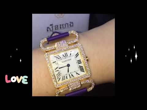 Diamond watches - Cambodia jewelry shop