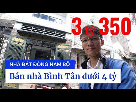Chính chủ Bán nhà quận Bình Tân dưới 4 tỷ mới nhất 2021, hẻm 302 Lê Đình Cẩn, Tân Tạo, hẻm 4m