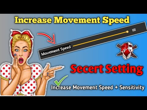 Secret Movement Speed Increase Setting Free Fire || How To Increase Movement Speed & Sensitivity FF