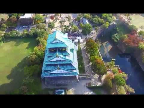 osaka original 4k drone video