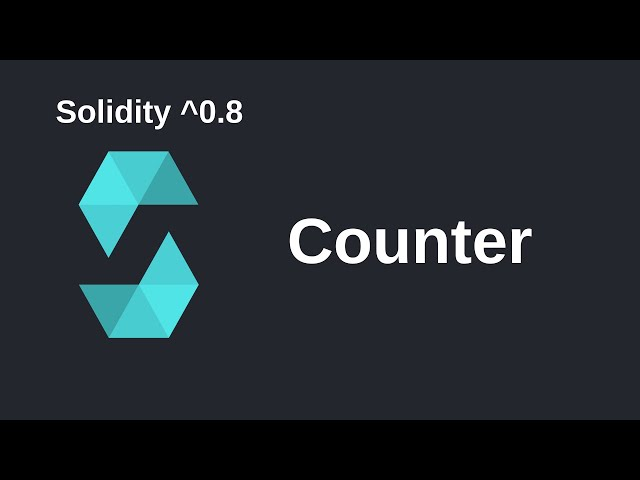 Counter | Solidity 0.8 Application
