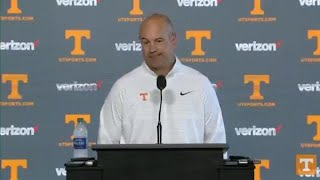 UT Vols coach Jeremy Pruitt: We'll be fired up and ready to play