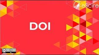 DOI (Digital Object Identifier) (Comunidad AMELI de OJS)