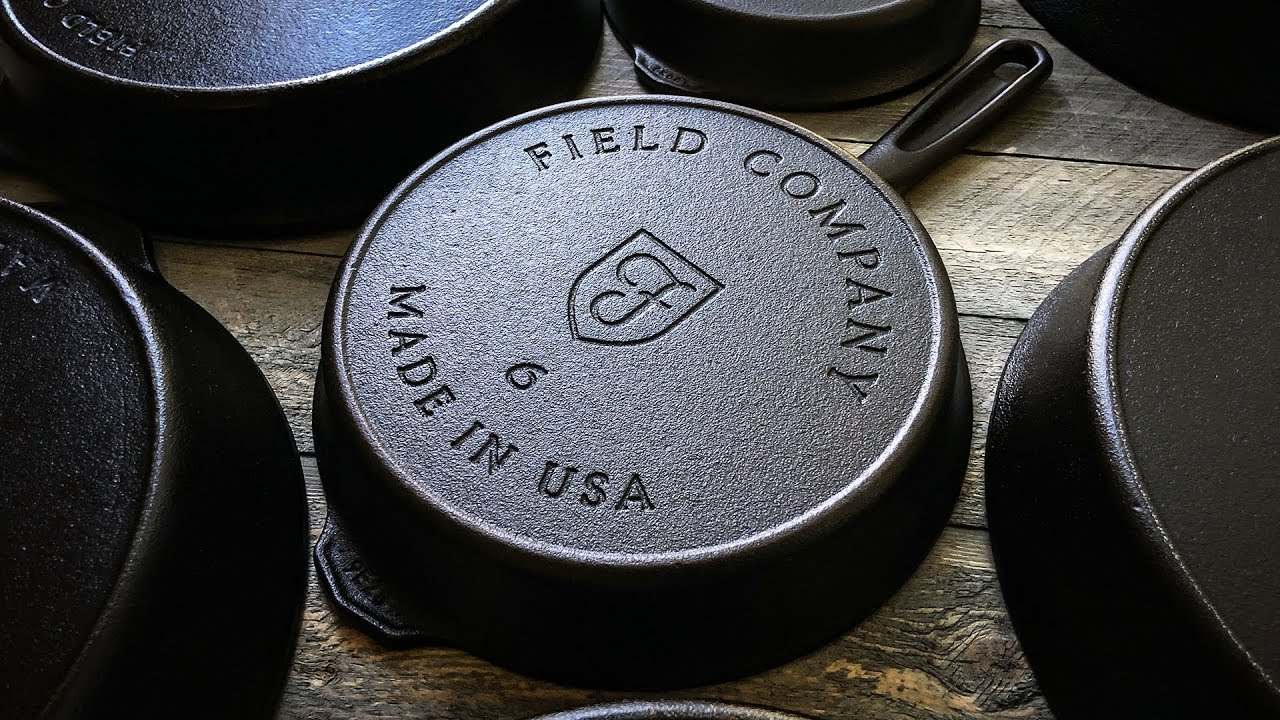 The Field Company No. 6 Cast Iron Skillet