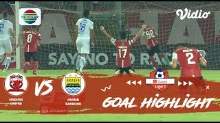 Madura United (2) vs (1) Persib Bandung - Goal Highlights | Shopee Liga 1