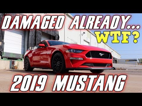 FORD DAMAGED my new  MUSTANG GT (Plus  vs  CHANGES)
