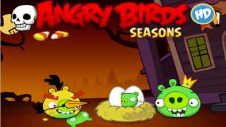 Angry Birds Seasons Haunted Hogs Theme
