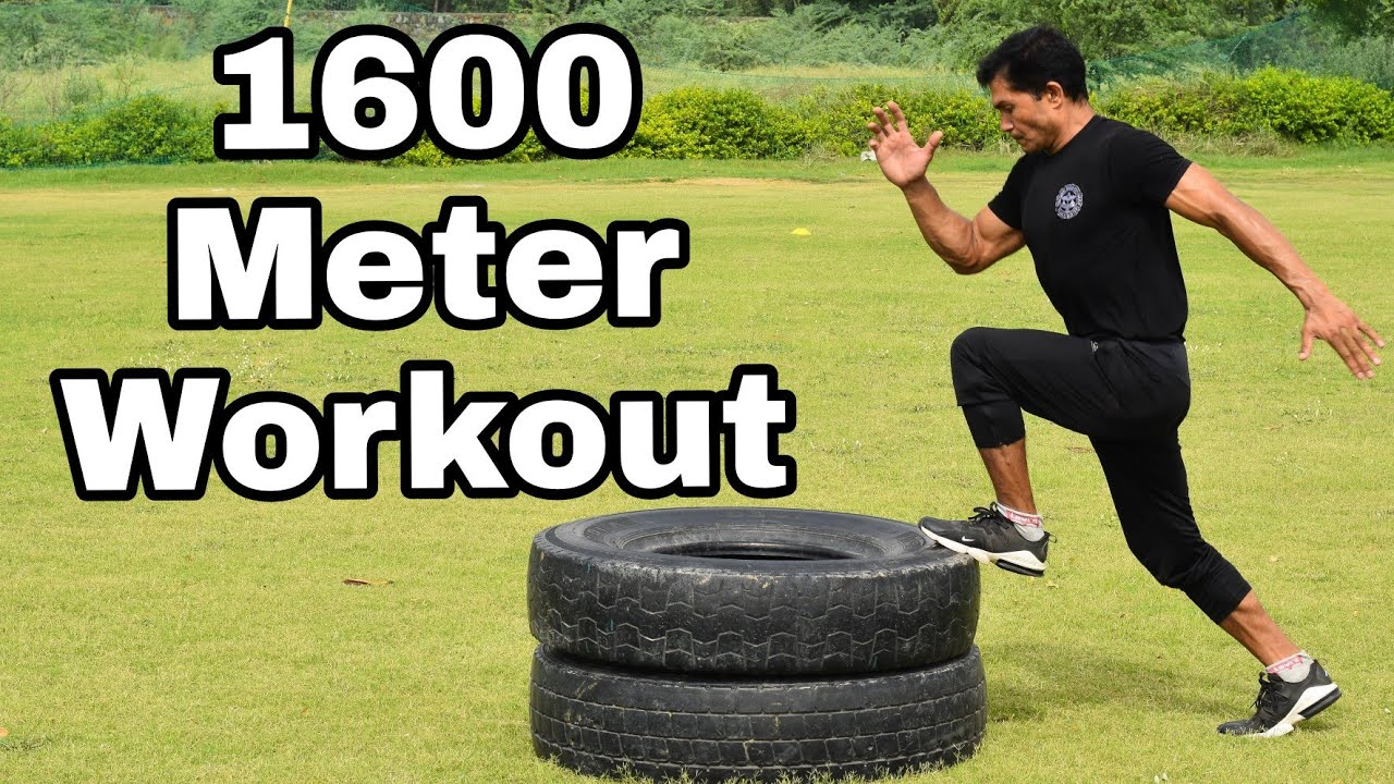 1600 Meter Workout with commando || Tuesday Workout