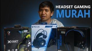 Unboxing  Headset Gaming Murah + Review Singkat