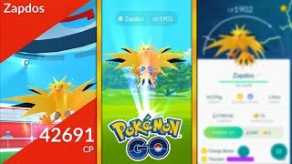 100% IV LEGENDARY ZAPDOS IN POKEMON GO! PERFECT IV ZAPDOS FOUND, BUT DID WE CATCH IT?!