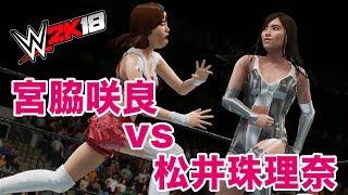 WWE 2K18 PC版で作成しました。 コスチュームは豆腐プロレス時のものを...