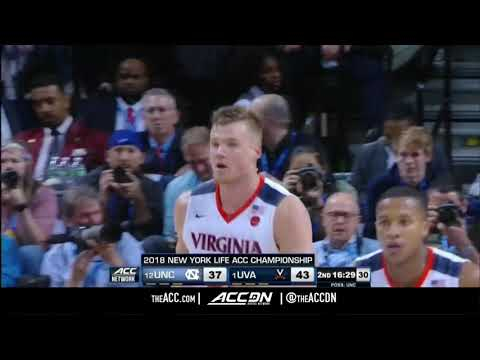 ACC MBB Tournament: North Carolina vs Virginia Condensed Game 2018