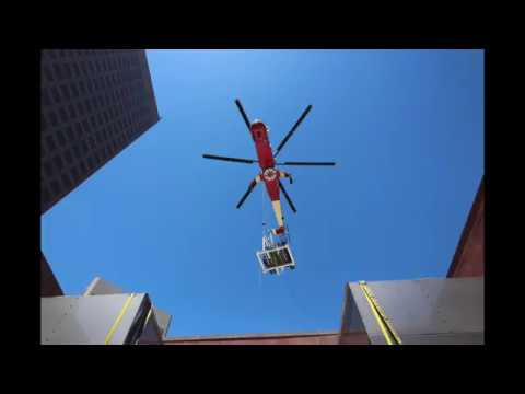 Downtown LA Heli-Lift