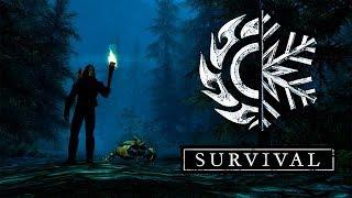 Skyrim Special Edition Выживание Легенда! Лучник + Creation Club #6