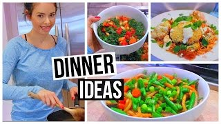 3 HEALTHY & EASY DINNER IDEAS!