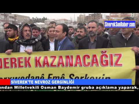 Siverekte Izinsiz Nevruz Kutlamasina Polis Mudahalesi
