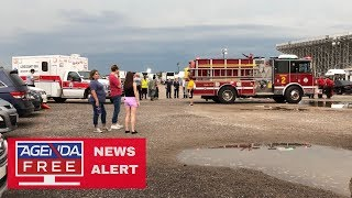 14 Injured in Collapse at Backstreet Boys Concert - LIVE COVERAGE