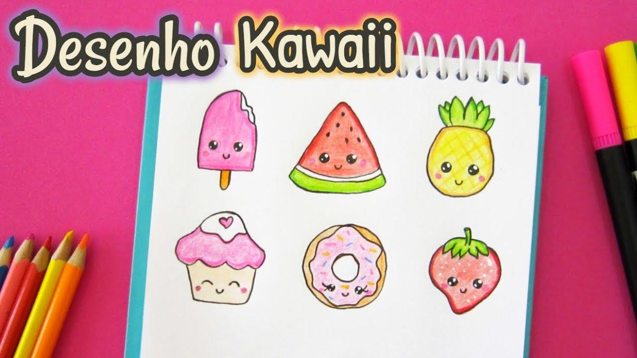 Como Desenhar Coisas Fofas Desenhos Kawaii