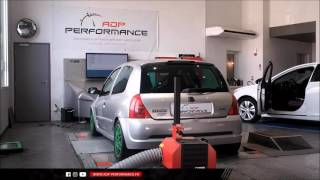 Reprogrammation moteur Stage 2 - Renault Clio 2 RS 2.0 16V (172 PS) 183 @ 195 PS - ADP Performance