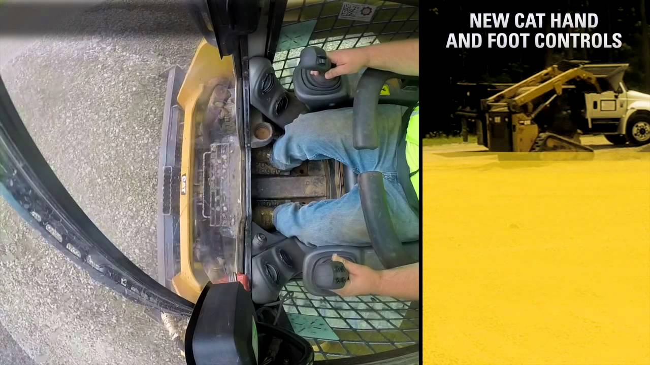 Cat® Hand And Foot Controls for Skid Steer and Compact Track Loaders -  Experience the Difference