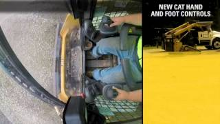 Cat Hand And Foot Controls for Skid Steer and Compact Track Loaders - Experience the Difference