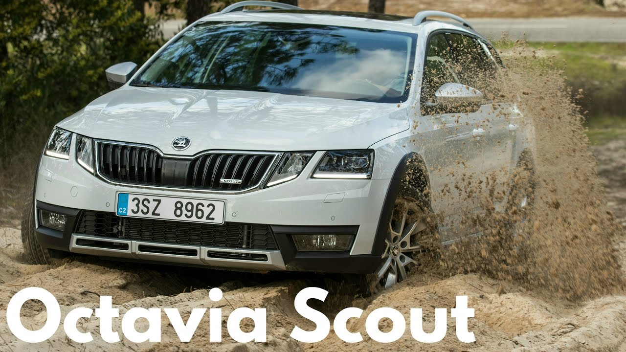 2017 Skoda Octavia Scout Ful Engines And All Wheel Drive As Standard