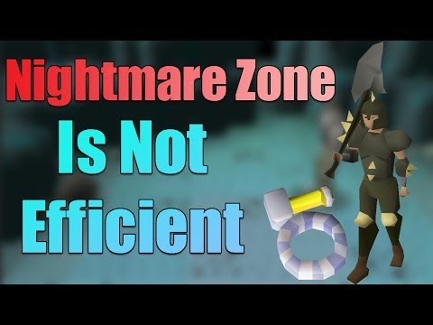 Why You Shouldn't Train Your Combat Stats At Nightmare Zone