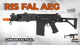 Lancer Tactical RIS FAL AEG Airsoft Rifle