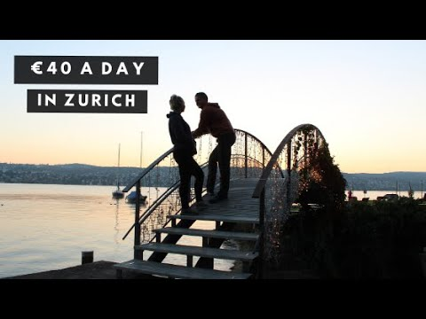 Zurich on a Budget | Exploring the City on $40 A DAY! |  highlands2hammocks travel vlog