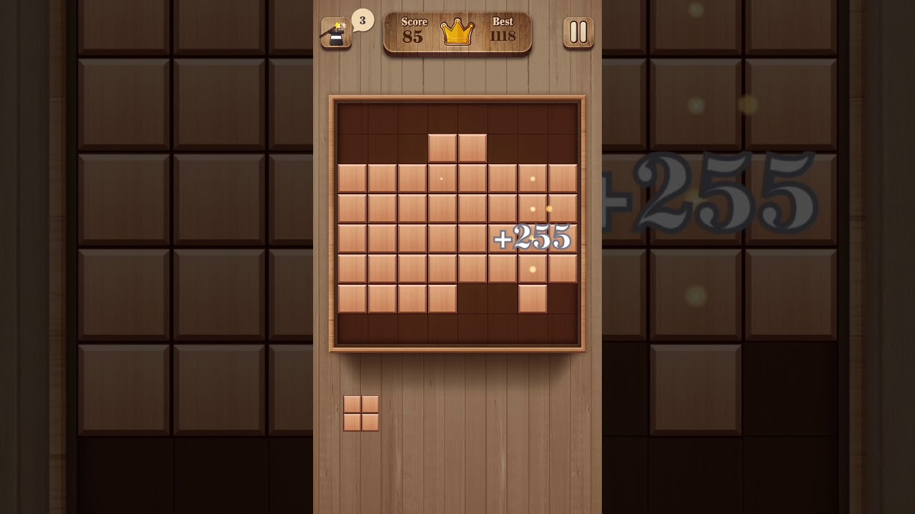 Fill Wooden Block 8x8 6s Combo