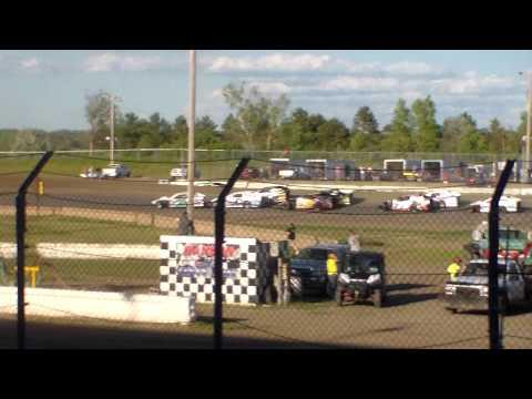 Jamestown Speedway Wissota MW Modified Heats (6/10/17)