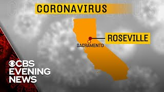 California reports first coronavirus death