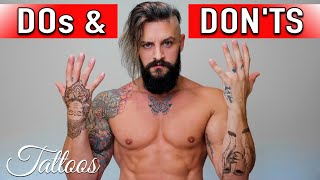 Tattoo DO's and DON'Ts!! How To Avoid BAD Tattoos + Most Unique Tattoo technique!