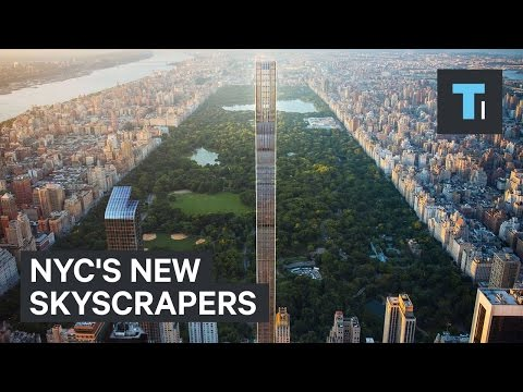 NYC's new skyscrapers