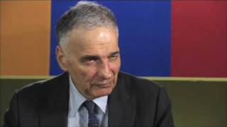 The YouTube Interview: Ralph Nader