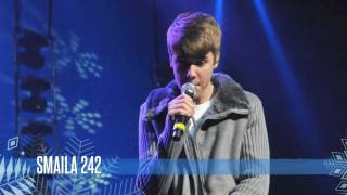 Justin Bieber los angeles justin. Stevie Wonder charity benefit !2011