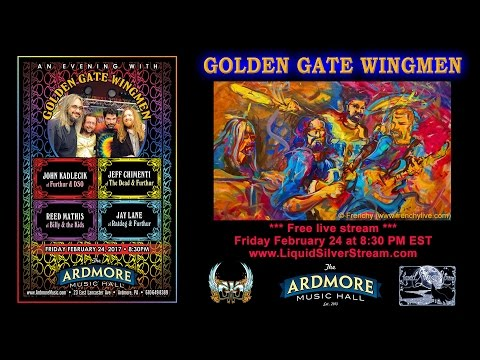 2017-02-24 – Golden Gate Wingmen – Ardmore Music Hall
