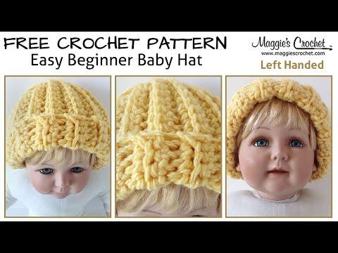 Crochet Patterns For Left Handers : Free Hat - Mashpedia Free Video Encyclopedia