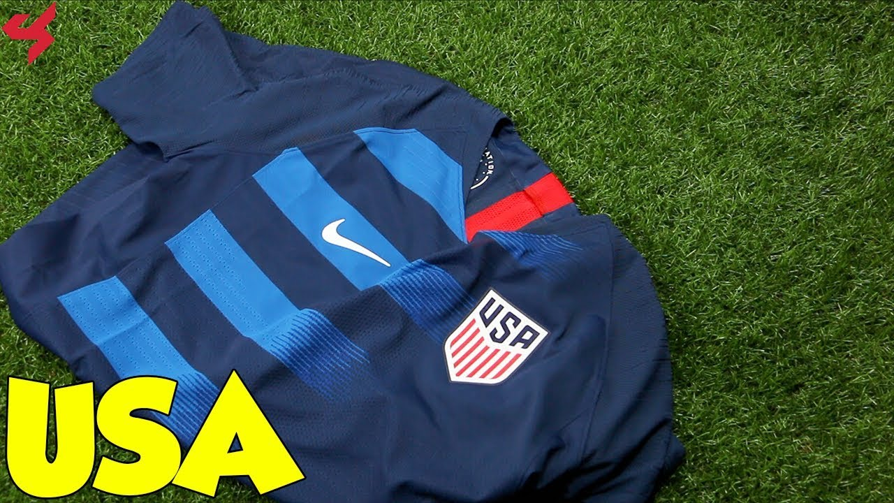 14a3b66ffa0 Nike USA 2018 VaporKnit Away Jersey Unboxing + Review - YouTube
