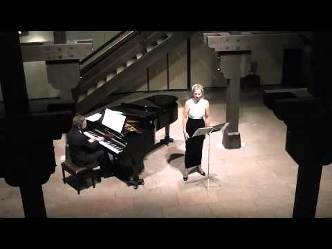 "Sir John Stevenson ""The Last Rose of Summer"" Julia Oesch, Mezzosopran und Jens Barnieck, Klavier"
