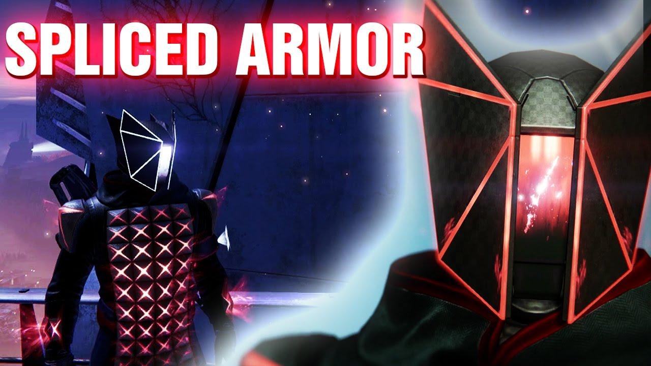 Destiny 2 Kings Fall Wallpaper Full Spliced Raid Armor Warlock And Optional Ornaments