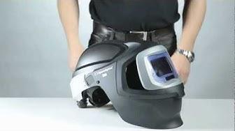 How to add ear muffs on Speedglas welding helmet 9100 MP