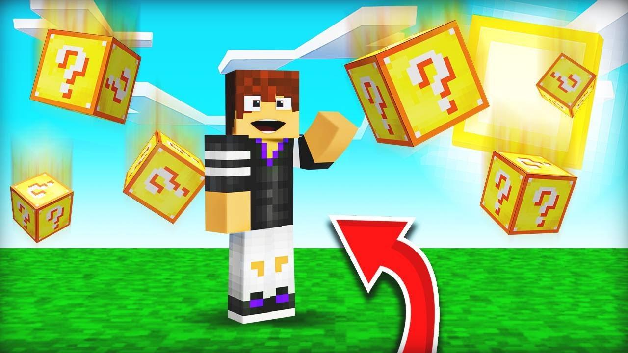 Download Minecraft ΑΛΛΑ βρέχει LUCKY BLOCKS!