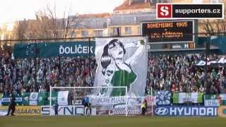 Atmosféra při zápase Bohemians Praha 1905 - 1.  FK Příbram
