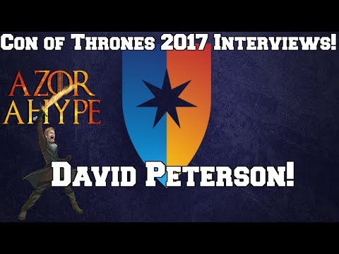 Con of Thrones 2017 - David Peterson Interview