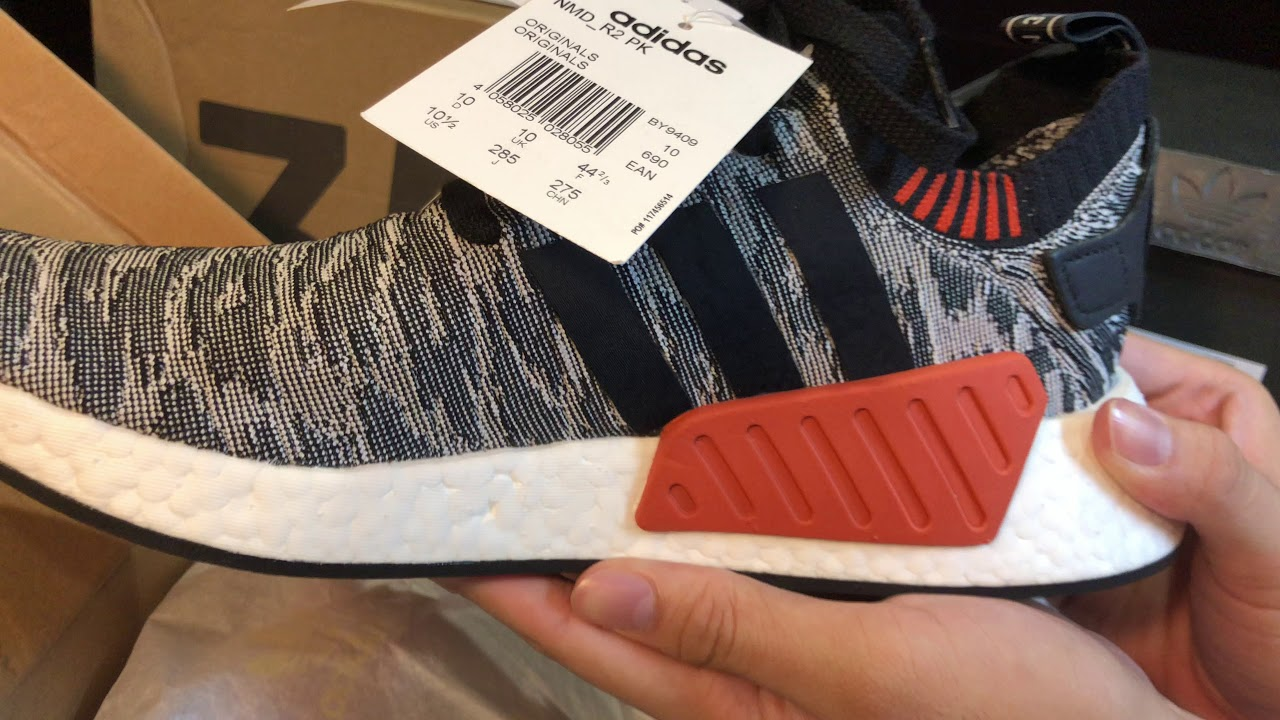 new style 49b71 2e869 Adidas NMD R2 Primeknit BY9409